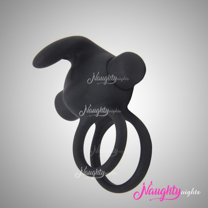 10 Frequency Penis Ring Vibrator for Delay and Pleasure