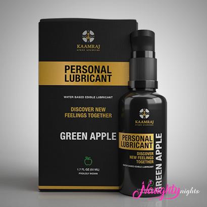 Kaamraj Green Apple Edible Lubricant - Water Based- 50 ML