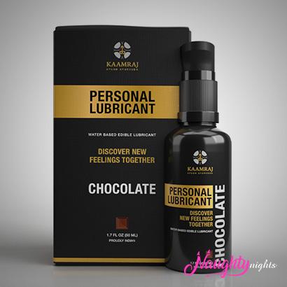 Kaamraj Chocolate Edible Water Based Lubricant - 50 ML