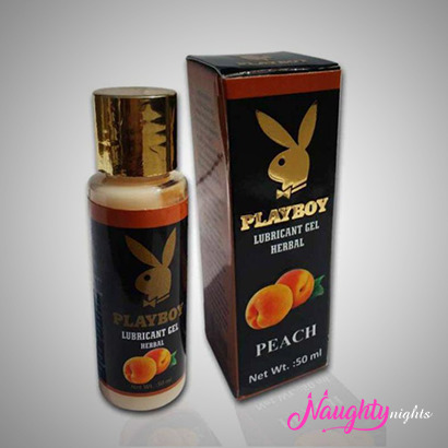 Playboy Lube Peach