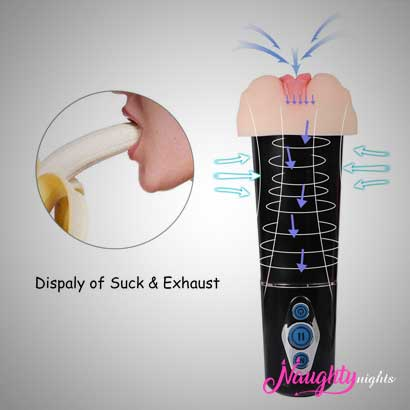 Auto Suck Masturbator With Different Mode of Suck - USB Rechargeable Blow Machine