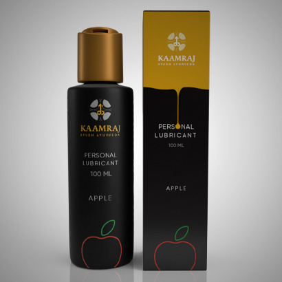 Kaamraj Apple Lubricant - Water Based- 100 ML
