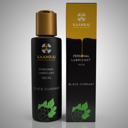 Kaamraj Black Currant Flavour Lubricant - Water based- 100 ML