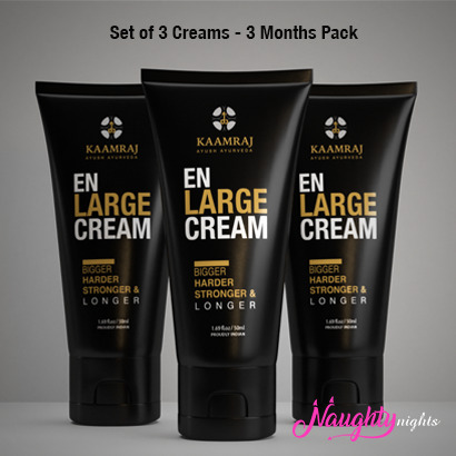 Kaamraj Enlarge Cream For Penis Enlargement-50ML (3 months Pack)