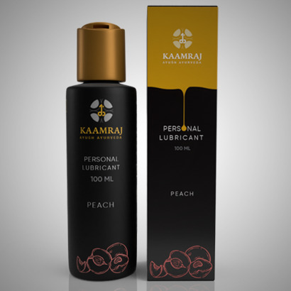 Kaamraj Peach Lubricant -Water Based - 100 ML