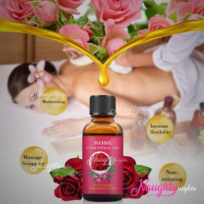 Rose Essential Sex Massage Oil