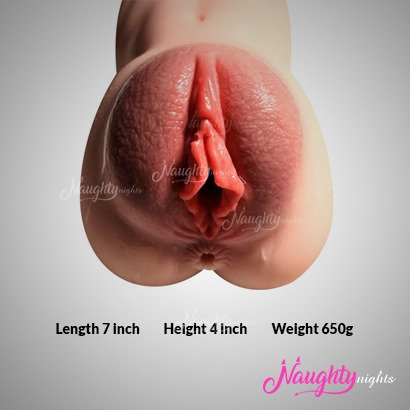 3D Realistic Masturbator Ass and Vagina For Men