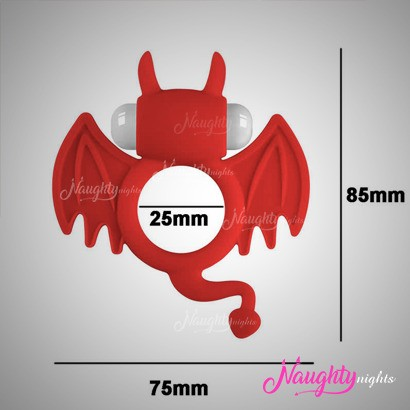 Bat Shape Sex Delay Cock Ring